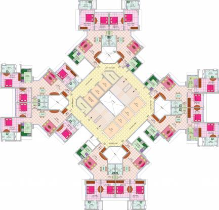 Nirmal Lifestyle Zircon Cluster Plan