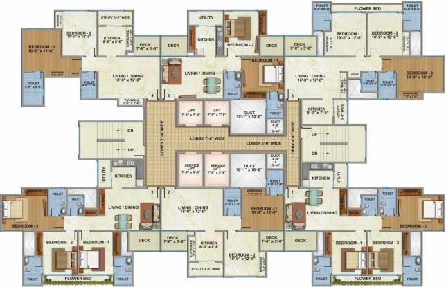 Godrej Alive B Cluster Plan
