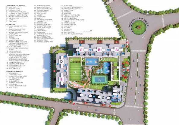 Godrej Alive B Site Plan