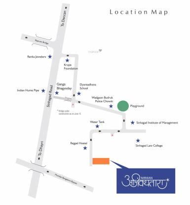 Nirman Ajinkyatara Wing D Location Plan