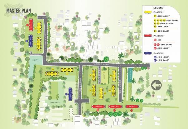 Xrbia Eiffel City Chakan Ph1 Master Plan