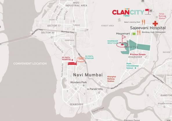 Clan City Turquoise Location Plan