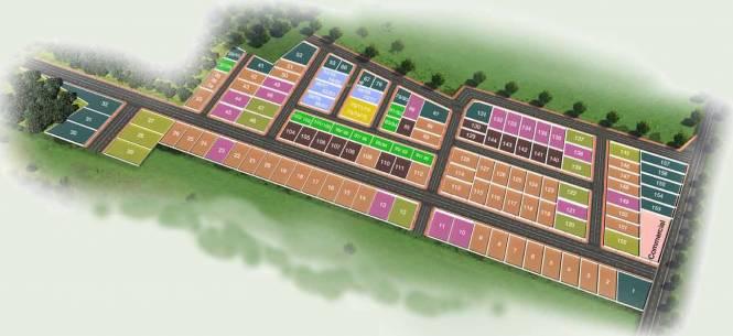 Hiranandani Hiranandani Parks Tierra Plots Layout Plan