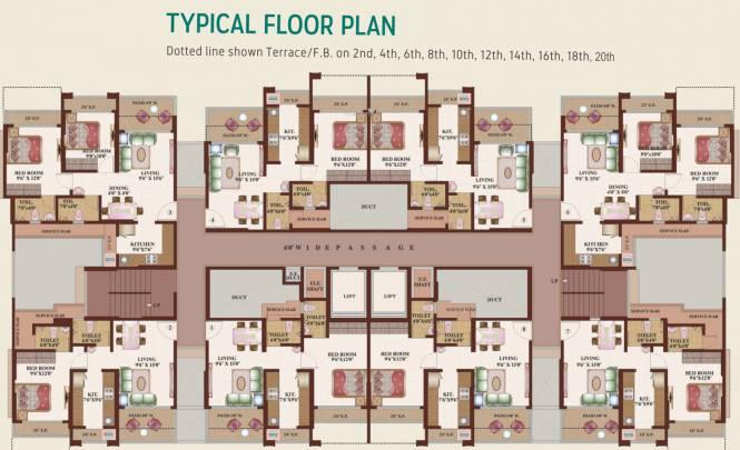Triveni Dynamic Ultima Bliss Cluster Plan