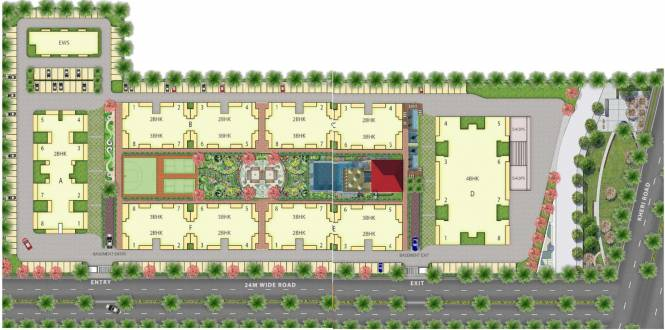 Emerald Heights Layout Plan