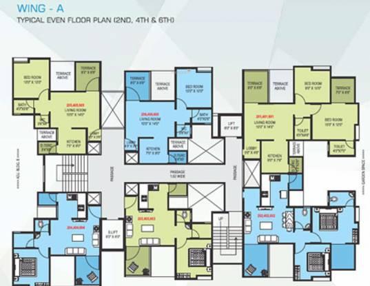 Adhya Rohan Cluster Plan
