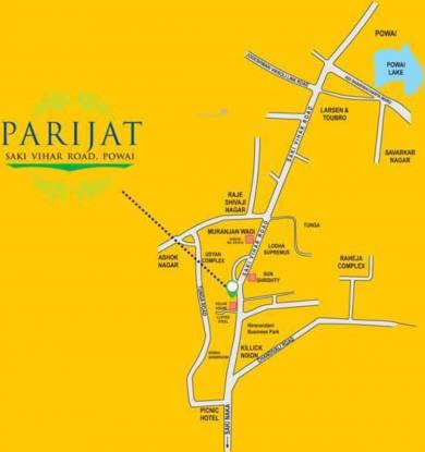 Better Parijat Towers Location Plan