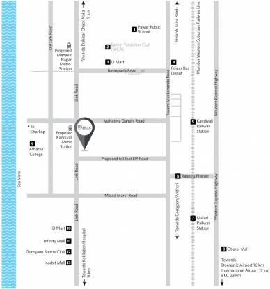 Siddha Seabrook Apartment Location Plan
