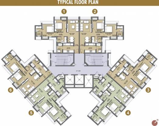 Lodha Casa Viva Cluster Plan