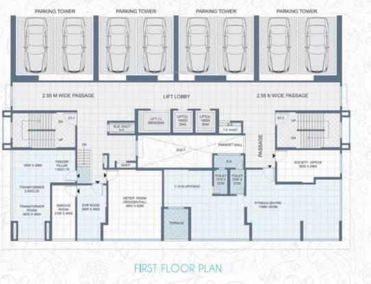 Shree Saibaba Grihanirmiti Neelambari Cluster Plan