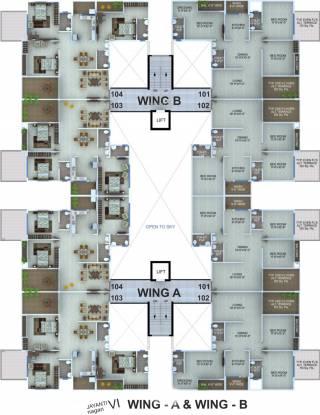 Abhijit Jayanti Nagari VI Cluster Plan