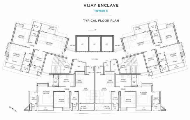 Vijay Enclave Cluster Plan
