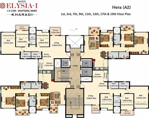 Nyati Elysia I Cluster Plan