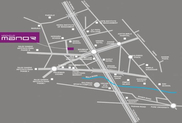 Magnova Manor Phase 1 Location Plan