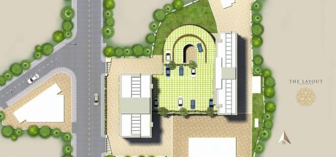Dhaval Sunrise Orlem Building 4 Layout Plan