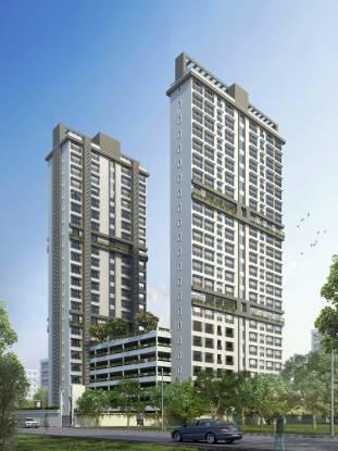 Dhaval Sunrise Orlem Building 4 Elevation