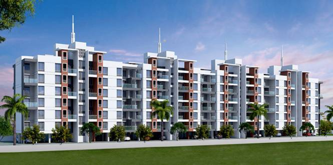 Gagan Quadream Residences Phase 1 Bldg C D and Common Amenities Elevation