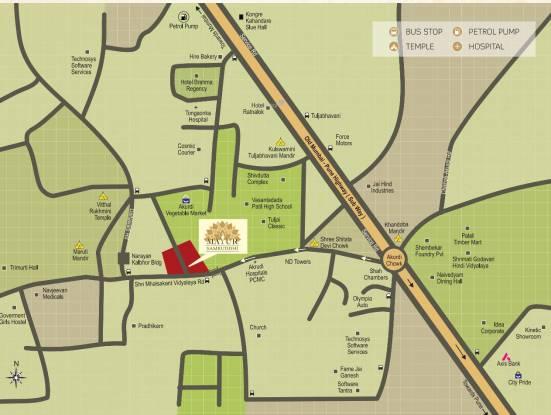 Bunty Mayur Samruddhi Phase I Location Plan