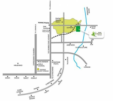 Elite Green Acres A Location Plan