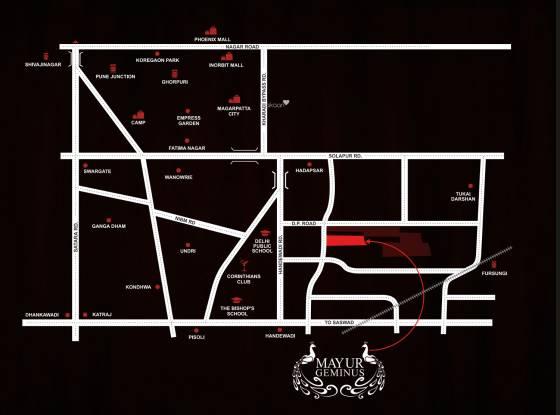 Bunty Mayur Geminus B Location Plan