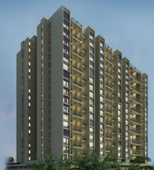 Goel Ganga Ganga Platino Building P Q R Elevation