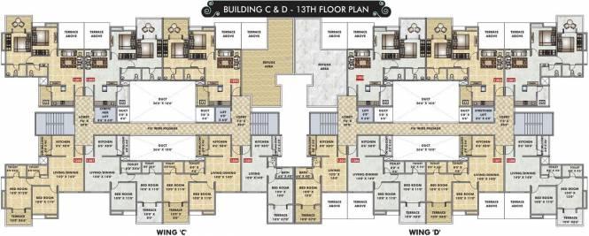 ARV Imperia C D And E Building Cluster Plan