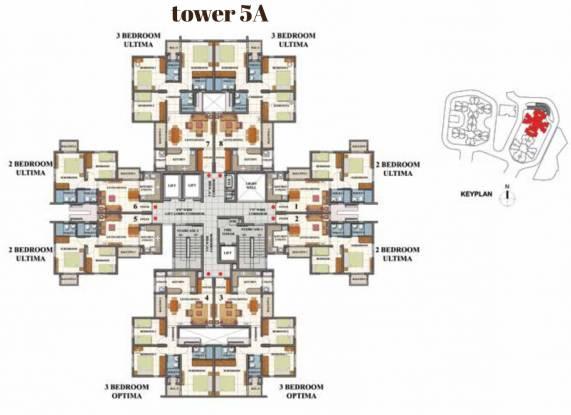 Shriram Divine City Cluster Plan