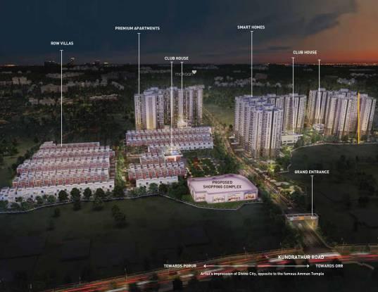 Shriram Divine City Elevation