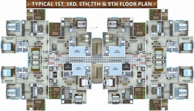 Sky Kasturi Heights Cluster Plan