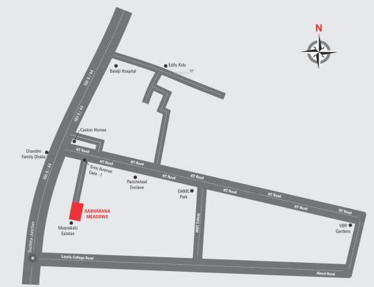 PN Aabharana Meadows Location Plan