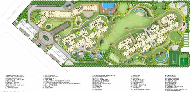 Hero Homes Gurgaon Master Plan