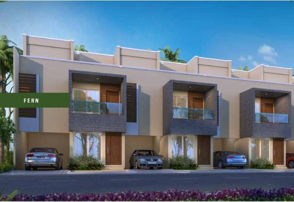 Alliance Humming Gardens Villas Elevation