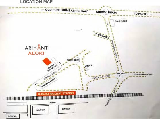 Arihant Aloki Phase I Location Plan
