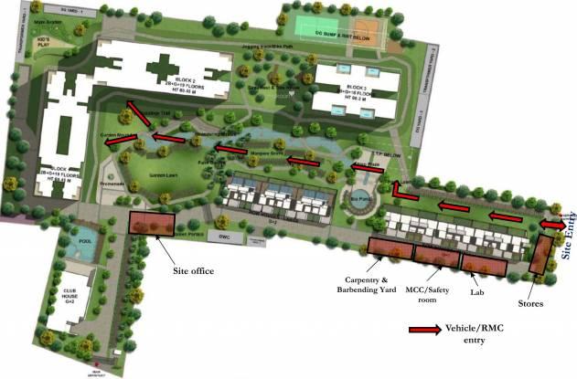 Sobha Pristine Villas Layout Plan