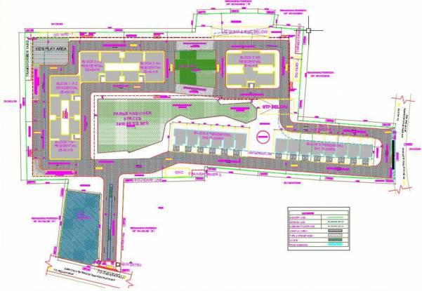 Sobha Pristine Villas Site Plan