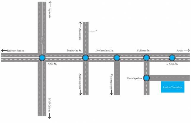 Swathi Luckie Township Location Plan