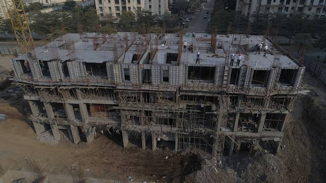 Hiranandani Flamingo Construction Status