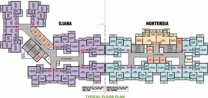 Arihant Aspire Phase I Cluster Plan