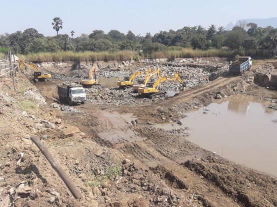 Arihant Aspire Phase I Construction Status
