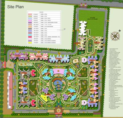 Ajnara Prime Tower Site Plan