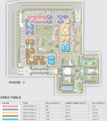 Mahima Sansaar Phase I Layout Plan