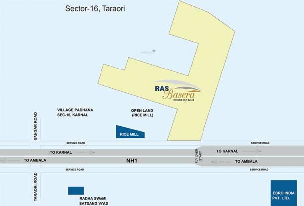 RAS Basera Location Plan