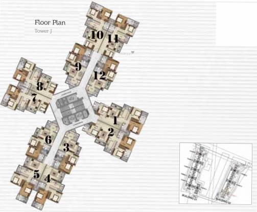 Shriram Green Field Phase 2 Cluster Plan