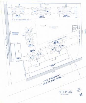 Nandan Carnival B Building Layout Plan