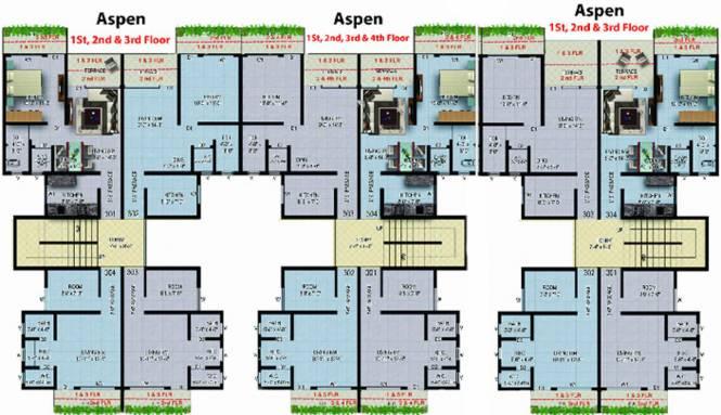 Sanghvi S3 Paradise Phase 1 Cluster Plan
