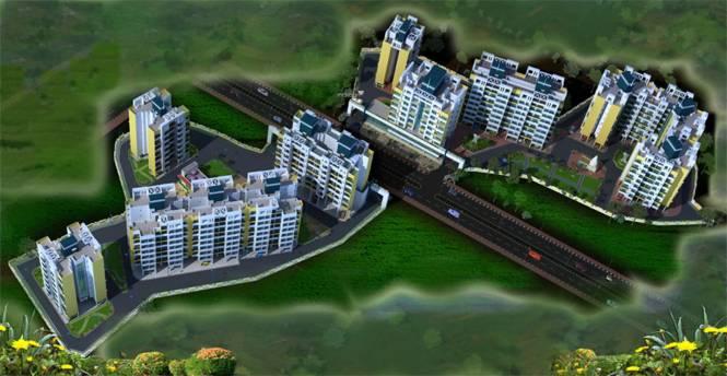 Navkar City Phase I Part 1 Elevation