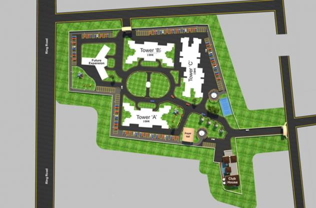 Green Amans Mannat Site Plan