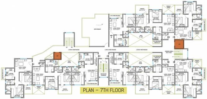 Satyam Rose Cluster Plan