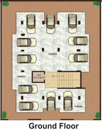 Subhadra Shree Ganesh Apartment Cluster Plan