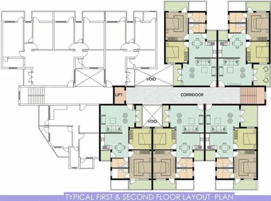 Prithvi Casa De Reis Cluster Plan